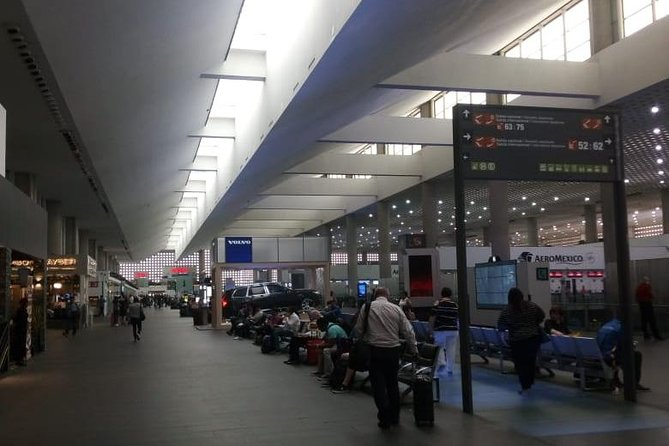 Departure Shared Transfer to Mexico City Airport