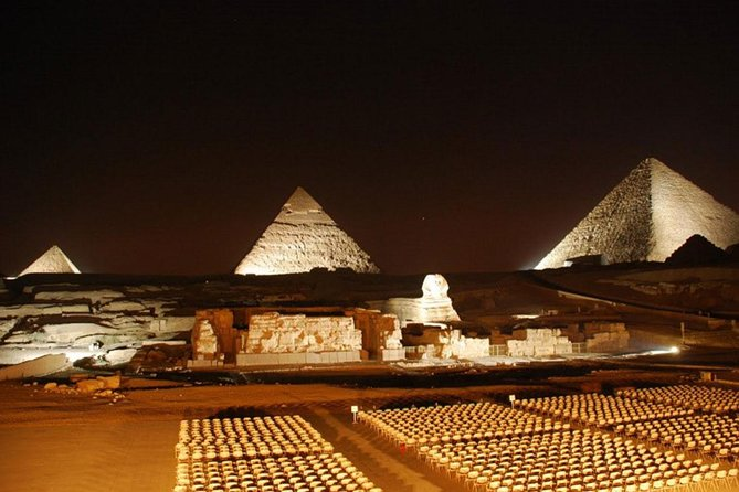 Amazing Sound & Light Show at the Pyramids of Giza