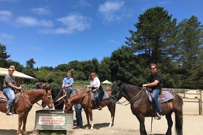 Horseback Ride on the Beach & Alcatraz Prison Tickets