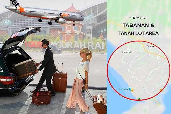 Bali DPS Airport Private Transfer from-to Tanah Lot & Tabanan