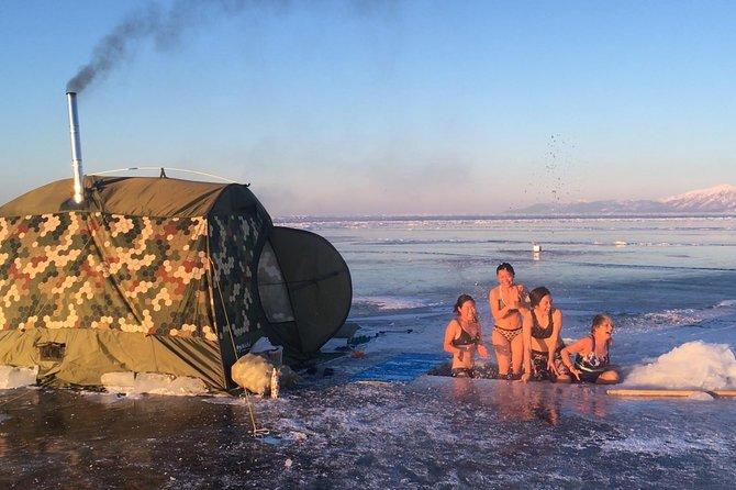 Banya and bathing in Baikal