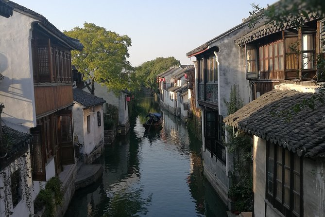 Zhouzhuang Water Town Private Day Tour from Shanghai with Boat Ride