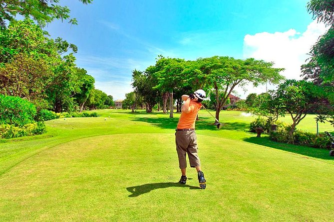 Bali Beach Golf Course with Private Caddie