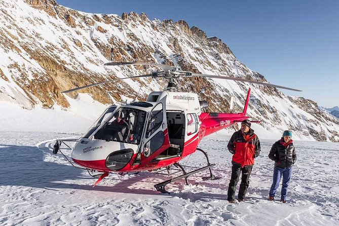 Jungfraujoch Day tour from Zurich by limo, train and helicopter