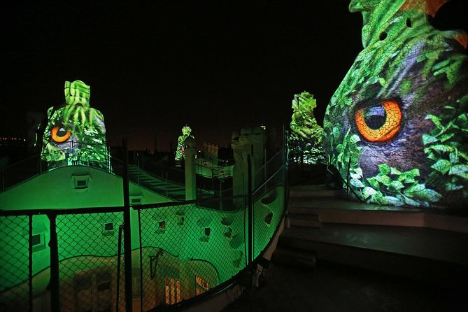 La Pedrera Night Experience: Visit + Audiovisual Display on the Roof Terrace photo 8