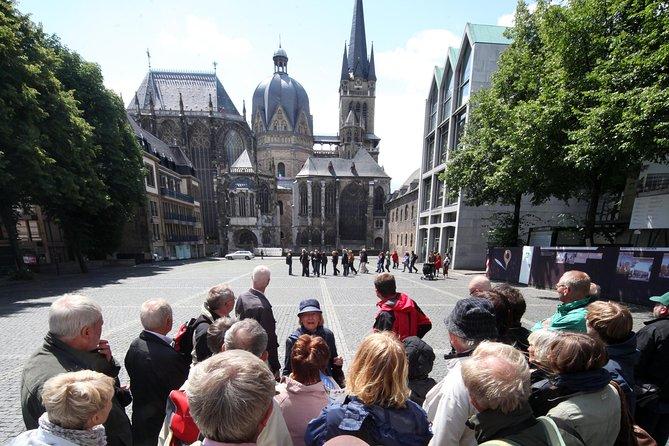 Excursão de cidade velha de Aachen (público)