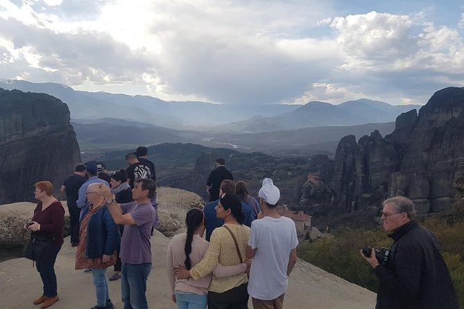 2-days rail trip from Athens to Meteora