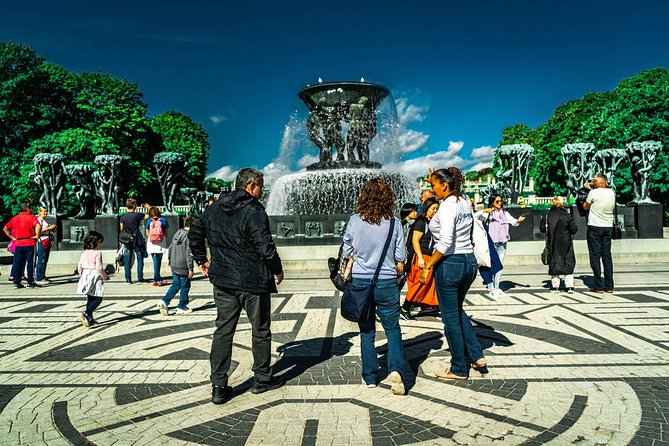 Oslo City & Vigeland Park Private Walking Tour, Fountain in the Vigeland Park