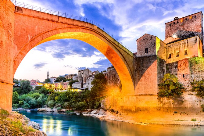 Mostar & Kravice waterfalls full-day guided tour from Split
