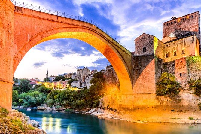 Excursão guiada de um dia a cachoeiras de Mostar e Kravice saindo de Split
