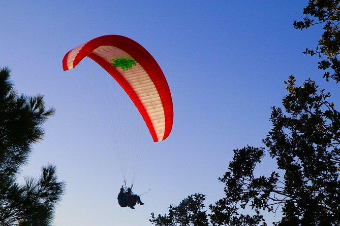 Paragliding Flight in Lebanon