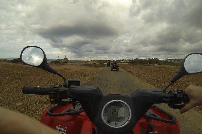 Tour durch Akamas mit Quad (halber Tag)