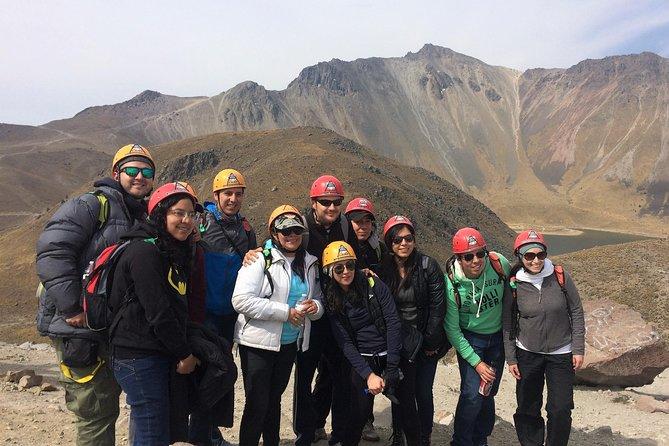 Mountaineering to the Nevado de Toluca (altitude 4680m)