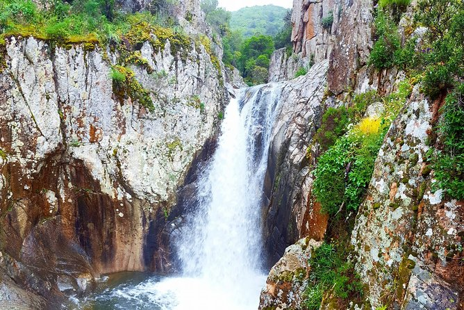 Cagliari: Trekking and Swimming at the Waterfalls from Chia
