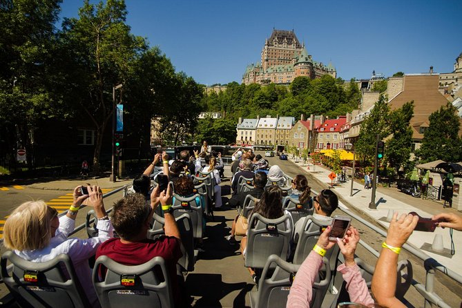 Chateau Frontenac from Place Royale