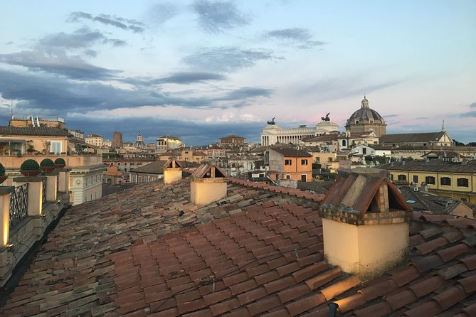 Rooftops of Rome by Night Food Tour with Dinner, Cocktails & Guided Sightseeing