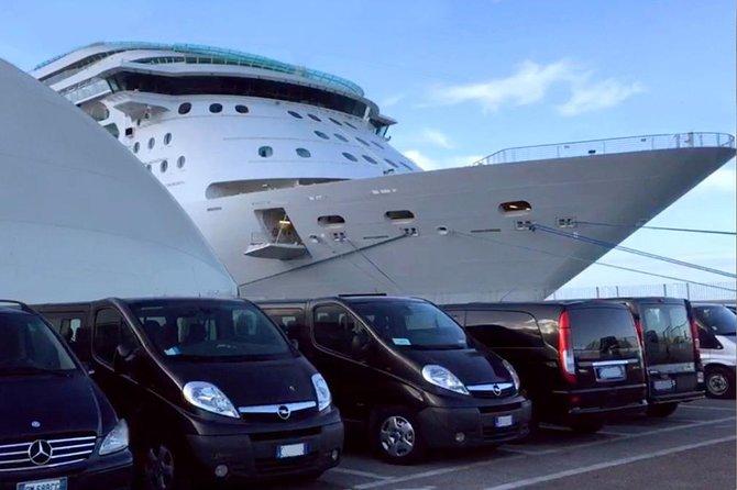 Private transfer from Civitavecchia cruise port to Rome or FCO