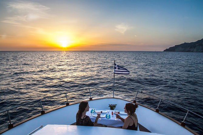 Luxury Motor Yacht Sunset Cruise with Gourmet 5-Course Dinner