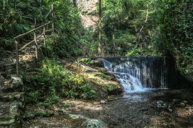 Amalfi waterfalls - 'Valle delle Ferriere' Nature Reserve - group walking tour