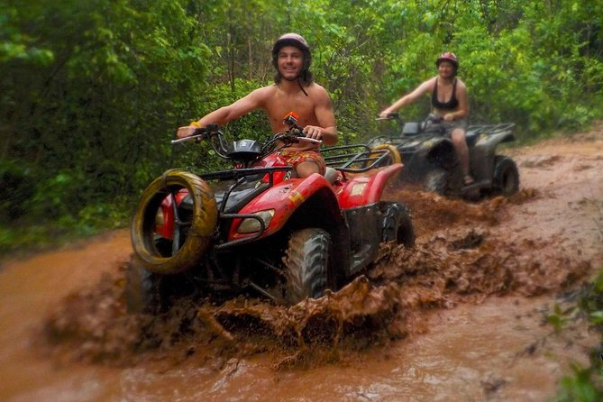 Super ATV´s and Romantic Dinner Combo, Transport, Lunch and Dinner included.