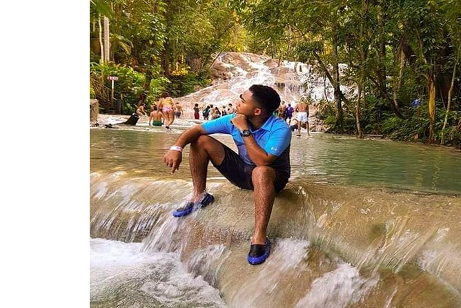 Dunns River Falls and Green Grotto Caves