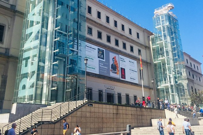 Visit of the Reina Sofia Museum: tickets and private historian guide
