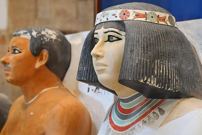 Giza pyramids & Egyptian Antiquities Museum Full Day Tour