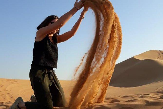 Desert Safari Dubai with BBQ Dinner Pickup from Ras Al Khaimah