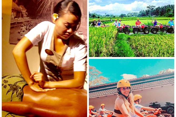 ATV Quad Lunch with One Hour Balinese Spa Treatment and Transport