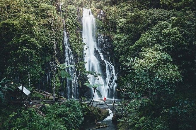 Discover An Enchanting Banyumala Twin Waterfall by Bike