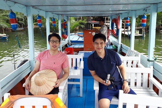 Boat Trip to Visit Cam Kim Island & Hoi An Walking Tour ( Private Tour )