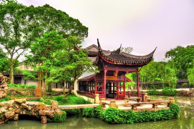 Suzhou UNESCO Gardens and Canal Boating from Suzhou or Shanghai