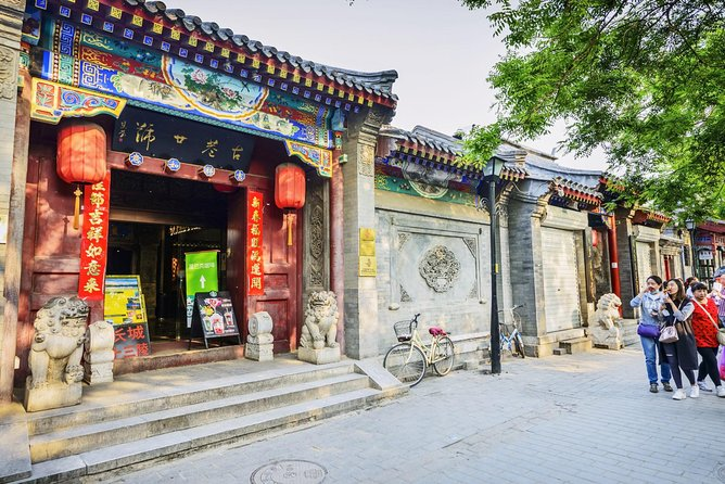 Hutong Tour, Drum & Bell Towers Square, Houhai Lakes and Roasted Duck