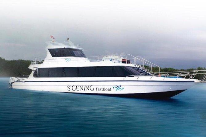 Return Fast Boat ticket from Sanur - Bali to Nusa Penida Island