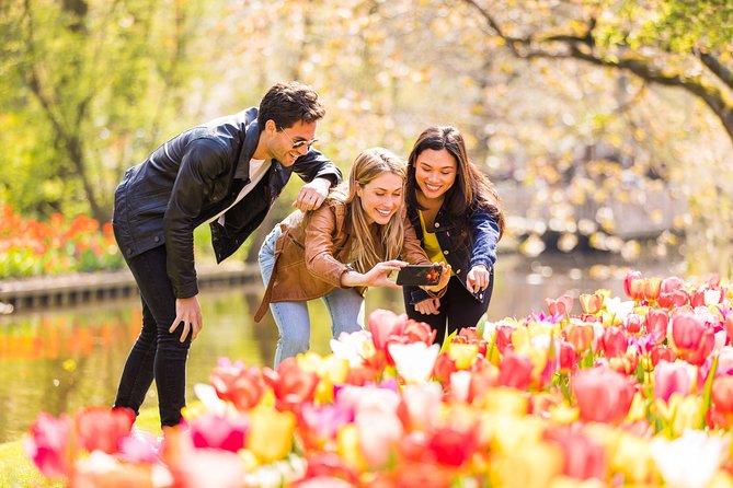Excursão terrestre: Excursão pelos Jardins Keukenhof saindo de Amsterdã e cruzeiro grátis pelo canal com duração de 1 hora