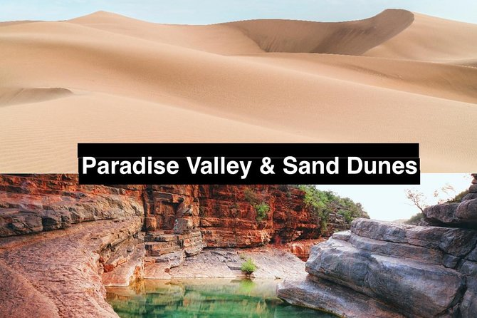 Agadir Day Trip to Paradise Valley & Desert Sand Dunes Including Lunch Included