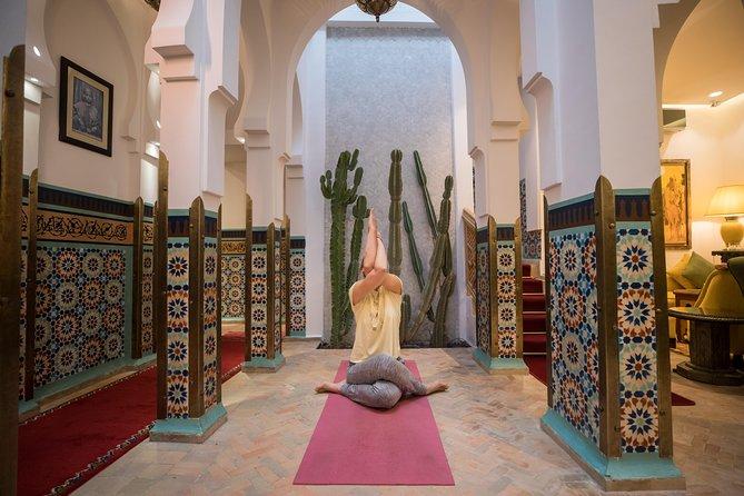 Express Yoga session at La Maison Arabe