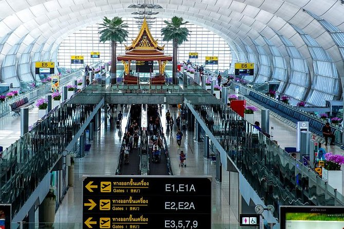 Private Bangkok Airport to Hotel in Pattaya