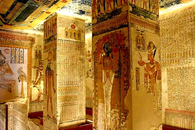 8 Hour Tour to Nefertari & King Tut's Tomb, Queen Hatshepsut & Karnak Temples