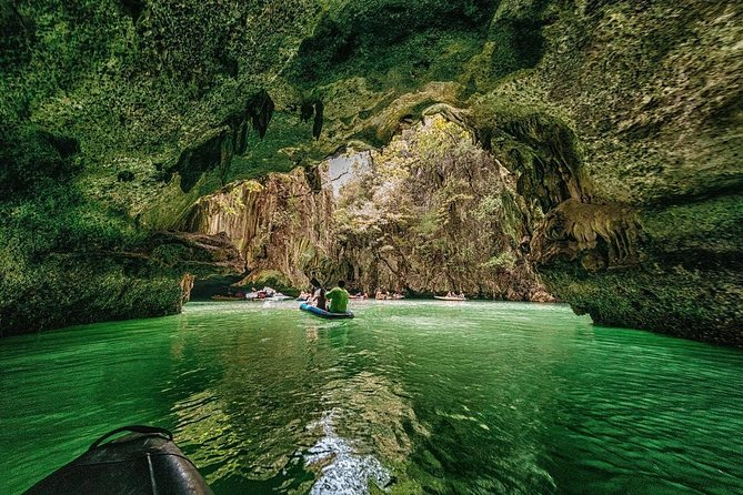 Phang Nga Bay Sea Cave Canoeing & James Bond Island by Private Speedboat Charter photo 4
