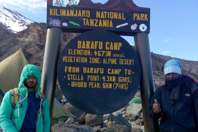 6 Days Machame Route Kilimanjaro Hiking Tour with Africa Natural Tours