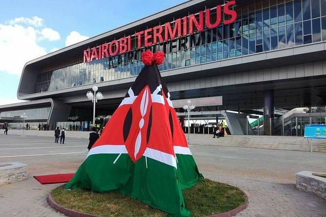 SGR - Express Train tickets to Mombasa from Nairobi.