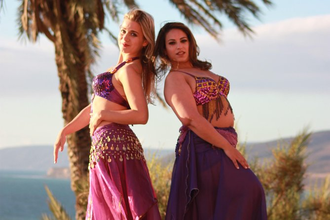Belly Dance class in Tamraght with a professional ISOC dance instructor