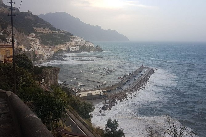 Private Driver: Full-Day Pompeii, Positano and Sorrento from Naples