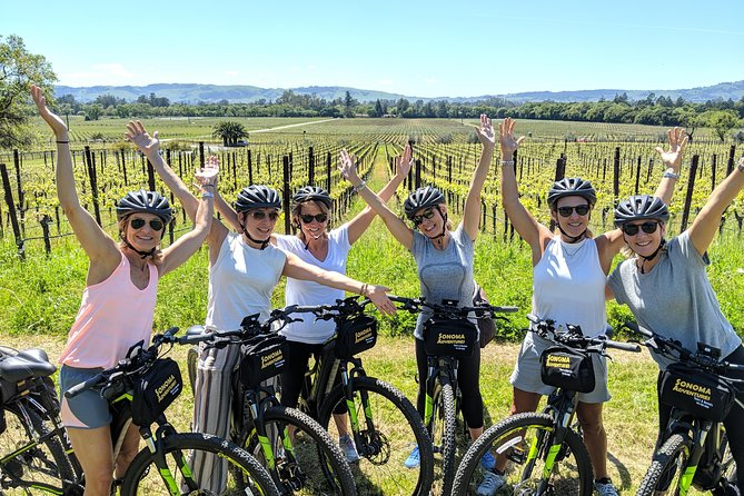 Half-Day Sonoma Valley Bike and Wine Tour (E-bike or Regular) photo 1