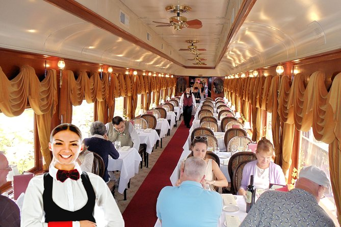Napa Valley Wine Train Tour and glamorous dining experience