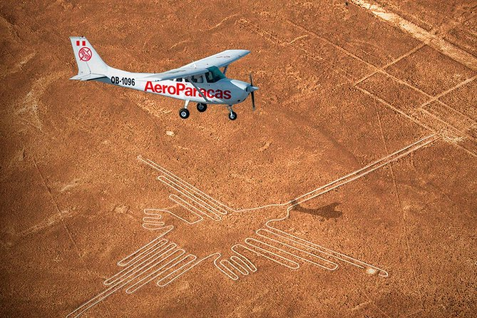 Enigmatic Nazca lines, overflight from Ica + Huacachina Oasis + Wine Tour