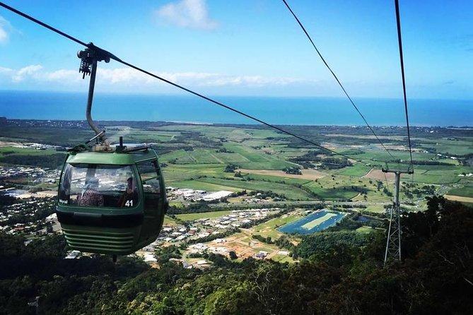 Visit Kuranda - Bus up, Skyrail Down with 3 Park Pass
