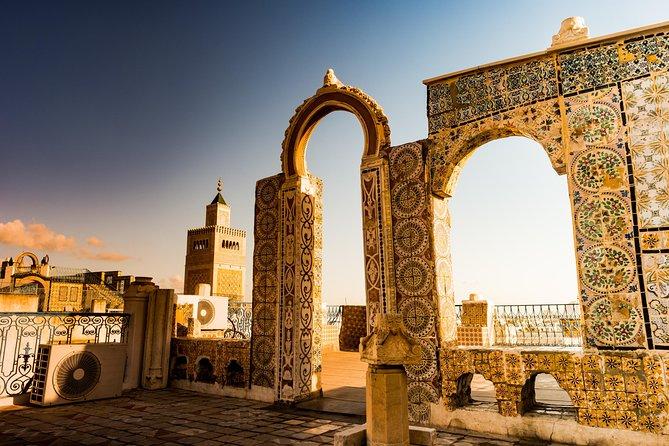 Full-Day Carthage, Sidi Bou Said, Bardo Museum & Medina Private Tour from Tunis
