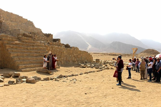 Fantastic excursion to Caral, the oldest civilization in the Americas!